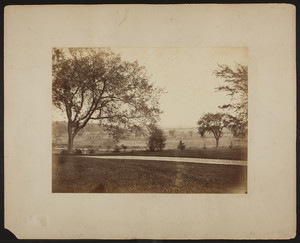 The grounds of the Grange, Lincoln, Mass.