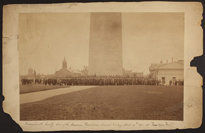 Massachusetts Society, Sons of the American Revolution Annual Meeting group portrait, Charlestown, Mass., Apr. 19, 1891