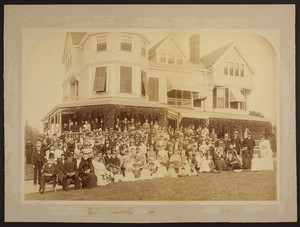 Reunion of the Metcalf Family, West Newton, Mass., 1892