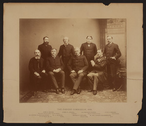 Portrait of the Fishery Commission, 1888
