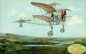 Aerocar designed by J. Emery Harriman, Jr., Brookline, Mass., Jan. 11, 1911