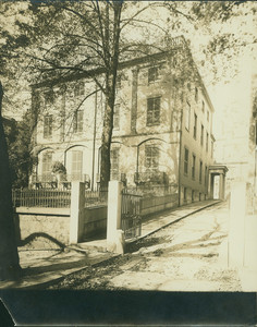 Exterior view of the second Harrison Gray Otis House, Sears House, 85 Mt. Vernon St., Boston, Mass., undated