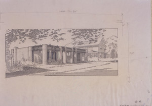 Front perspective of the Dr. William Mauran House, Providence, R.I., 1972