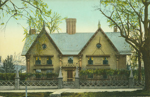 Postcard of Pickering House, built 1651, birthplace of Col. Timothy Pickering 1745m, Salem, Mass., undated