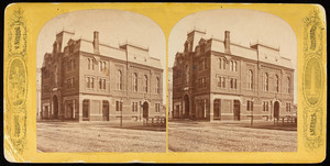 Stereograph of the Parker Memorial Building, Boston, Mass., undated