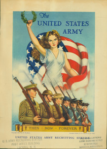 Recruiting poster for the United States Army, 1939