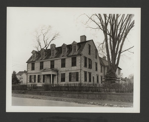 Exterior view of the Jarathmael Bowers House, Somerset, Mass., undated