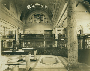 Interior view of the International Trust Company, 45 Milk Street, Boston, Mass., undated