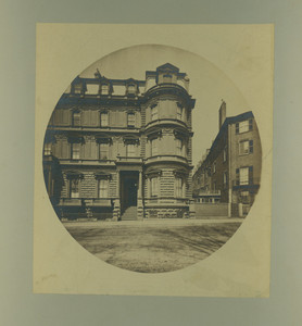 Exterior view of the Brewer House, Boston, Mass., undated