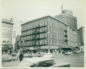 View of Tremont Street and Broadway looking north to Carver Street, Boston, Mass., undated