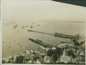 Bird's-eye-view of Long Point, Provincetown, Mass., undated