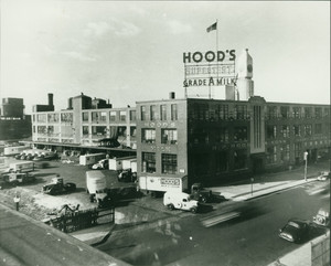 Exterior view of Hood Milk Plant, Charlestown, Mass., undated