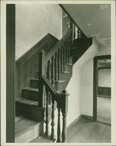 Interior view of the Barnaby House, Freetown, Mass., undated