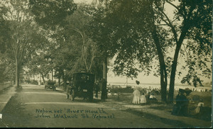 Neponset River Mouth from Walnut St., Dorchester, Mass., undated