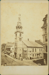 Exterior view of the Old South Meeting House, Boston, Mass., 1877