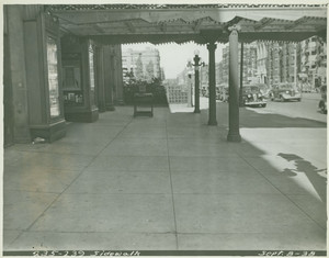 Exterior view of 235 - 239 Huntington Avenue, Boston, Mass., undated