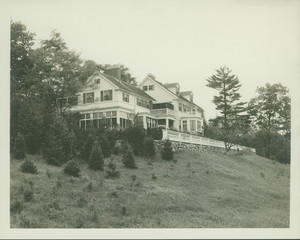 Exterior view of the John Lawrence House, 76 Campmeeting Road, Topsfield, Mass., undated