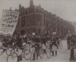 Boston Bicycle Parade, Boston, Mass., 1896