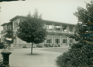 Exterior view of The Refectory, Franklin Park, Roxbury, Mass., undated