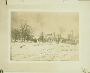 Exterior view of the Old Locke House, Winchester, Mass., undated