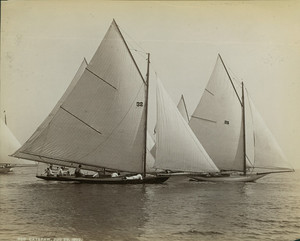 Catspaw sailboat, location unknown, July 29, 1892