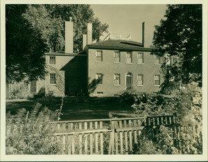 Exterior view of the Samuel Fowler House, Danvers, Mass., undated