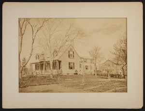 Exterior view of the Old Homestead, Boston, Mass., undated