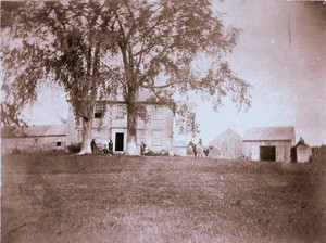 Exterior view of the Bowman House, Dresden, Maine, undated