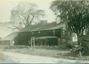 Exterior view of the Goodale Little House, undated