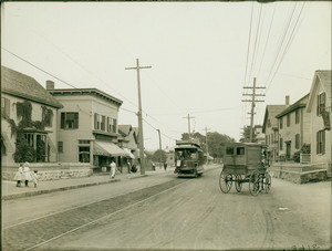 View of Watertown Street, Nonantum, Mass., undated