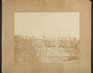 Aerial view of Fort Hill Square, Boston, Mass., ca. 1868