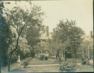 Exterior view of the Emmerton House, Salem, Mass., undated