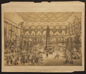 Fair of the Boston Young Men's Christian Association, in aid of the Building Fund, at the Music Hall, Dec. 21st to 30th 1858