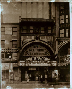 Exterior view of the Rialto Theatre, Scollay Square, Boston, Mass., ca. 1946