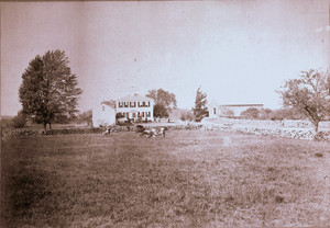 Exterior view of the John Robbins House, Acton, Mass., undated