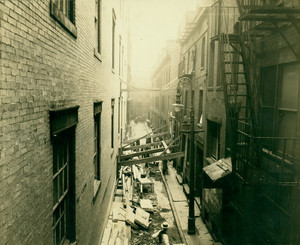 Ward 5, showing 3-2 Oxford Place, Boston, Mass., 11 July 1921
