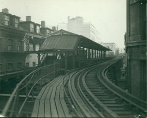 Beach Street station, Boston, Mass., undated