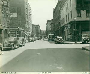Beach St. at Tyler St., Boston, Mass., 24 June 1942