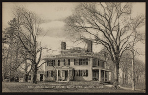 Col. Josiah Quincy House, built 1770, Quincy, Mass.