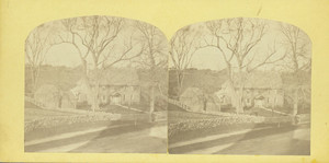 Exterior view of the Coffin House, Newbury, Mass., undated
