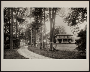 Exterior view of the Josiah Quincy House, Quincy, Mass., undated