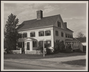 Exterior view of the Marrett House, Standish, Maine, ca. 1973