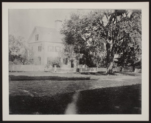 Exterior view of the Marrett House, Standish, Maine, undated