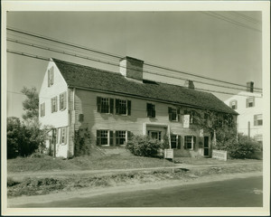 Exterior view of the Swett-Ilsley House, Newbury, Mass., undated
