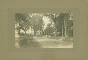 Exterior view of Castle Tucker, Wiscasset, Maine, before 1890s