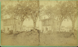 Exterior view of Castle Tucker, Wiscasset, Maine