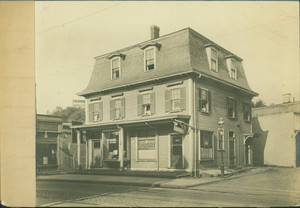 Exterior view of 667 Centre St., Jamaica Plain, Mass., undated