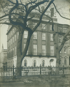Thayer House (Hampshire House), Beacon Street and corner of Brimmer Street, Boston, Mass.