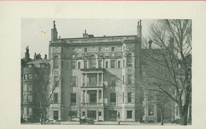 Exterior view of the Algonquin Club, Commonwealth Ave., Boston, Mass., 1918