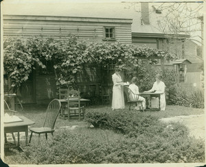 Exterior view of the Tea House at the House of Seven Gables, Salem, Mass., undated